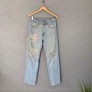 Vintage Levi's Destroyed 505 jeans 31